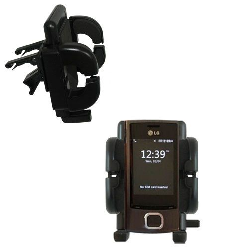 Vent Swivel Car Auto Holder Mount compatible with the LG GD550