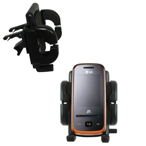 Vent Swivel Car Auto Holder Mount compatible with the LG GM310