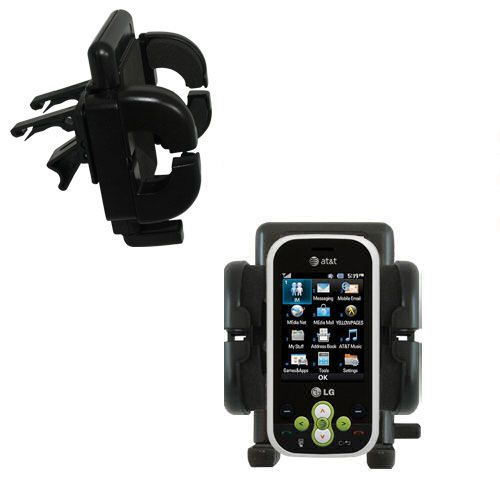 Vent Swivel Car Auto Holder Mount compatible with the LG GT365