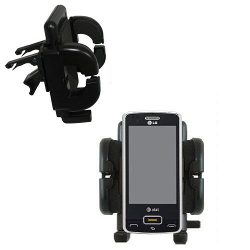 Vent Swivel Car Auto Holder Mount compatible with the LG GW820 eXpo