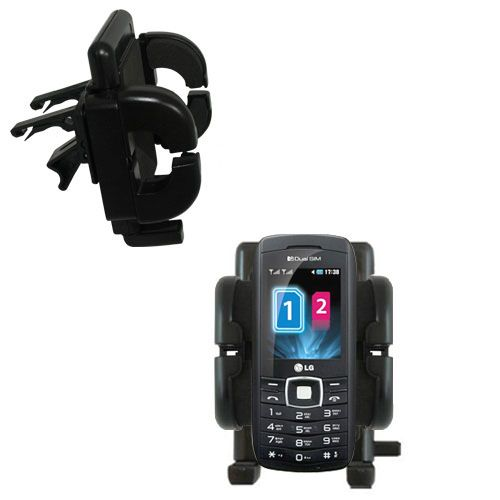 Vent Swivel Car Auto Holder Mount compatible with the LG GX300