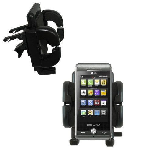 Vent Swivel Car Auto Holder Mount compatible with the LG GX500