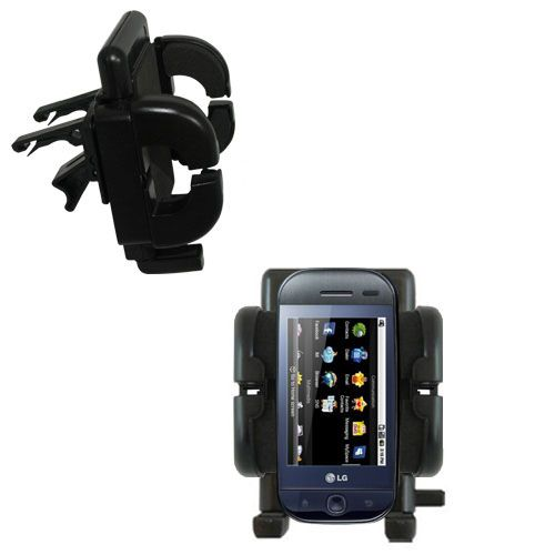 Vent Swivel Car Auto Holder Mount compatible with the LG InTouch Max