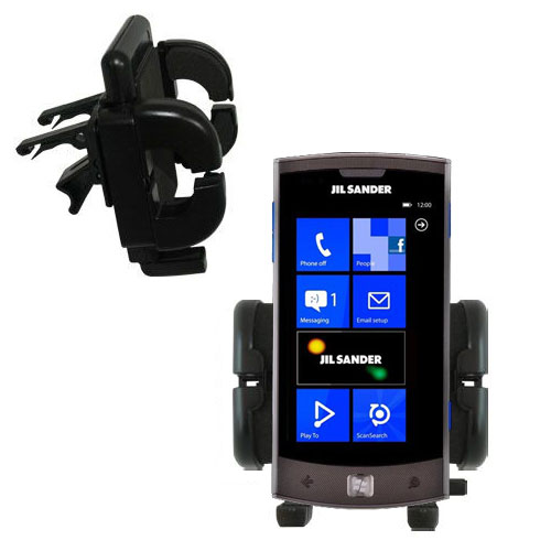 Vent Swivel Car Auto Holder Mount compatible with the LG Jil Sander