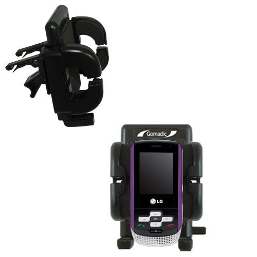 Vent Swivel Car Auto Holder Mount compatible with the LG KP265