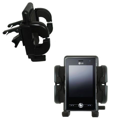 Vent Swivel Car Auto Holder Mount compatible with the LG KS20