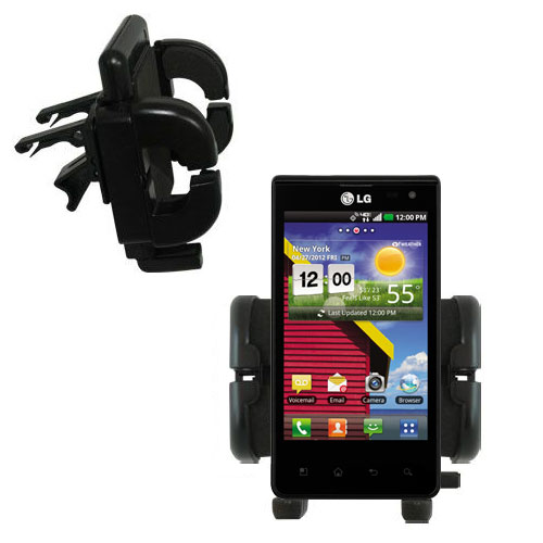 Vent Swivel Car Auto Holder Mount compatible with the LG Lucid 1 / 2 / 3