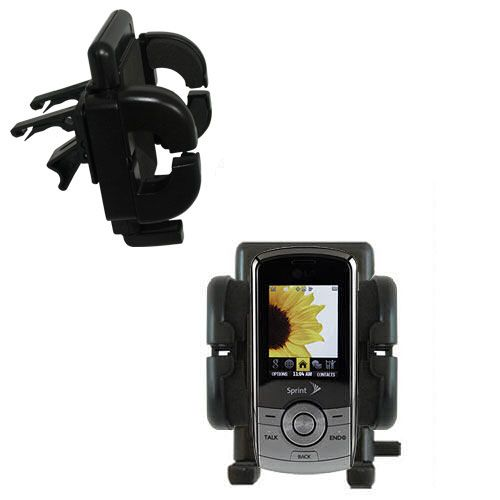 Vent Swivel Car Auto Holder Mount compatible with the LG LX370