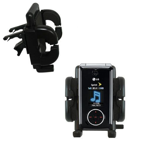 Vent Swivel Car Auto Holder Mount compatible with the LG LX570 / LX-570