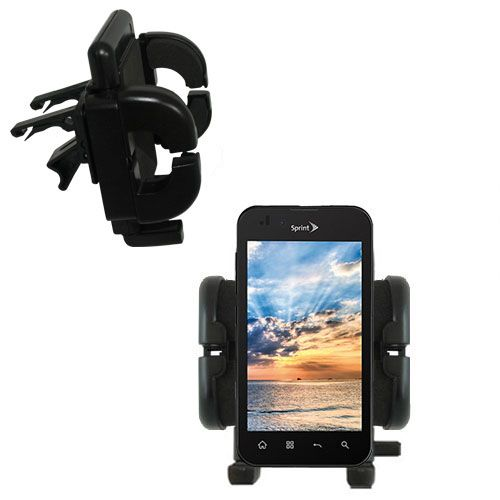 Vent Swivel Car Auto Holder Mount compatible with the LG Marquee