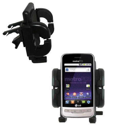 Vent Swivel Car Auto Holder Mount compatible with the LG MS690