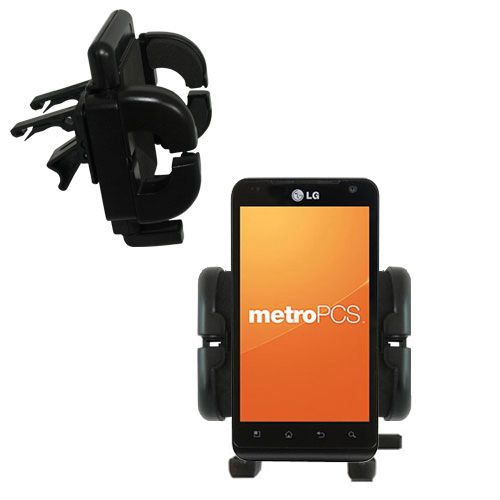 Vent Swivel Car Auto Holder Mount compatible with the LG MS910
