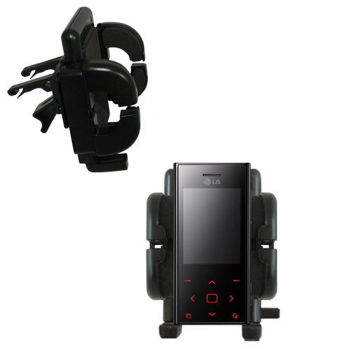 Vent Swivel Car Auto Holder Mount compatible with the LG New Chocolate BL20