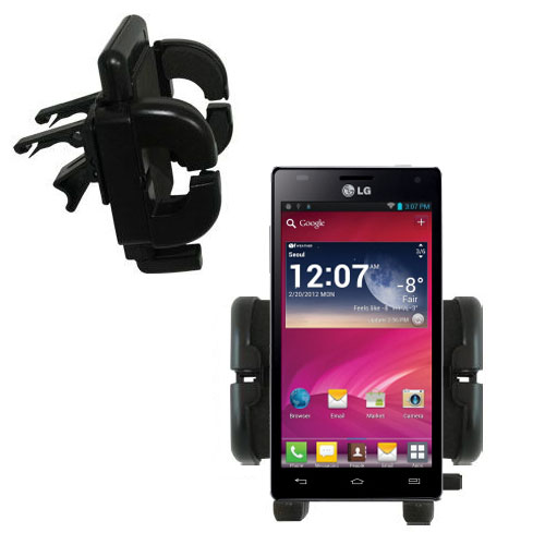 Vent Swivel Car Auto Holder Mount compatible with the LG Optimus 4X HD
