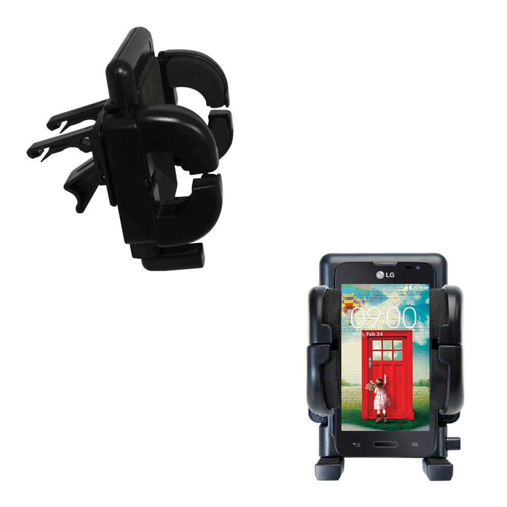 Vent Swivel Car Auto Holder Mount compatible with the LG Optimus L70