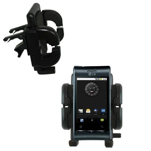 Vent Swivel Car Auto Holder Mount compatible with the LG Optimus S