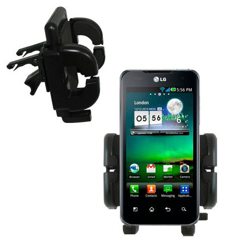 Vent Swivel Car Auto Holder Mount compatible with the LG Optimus True HD