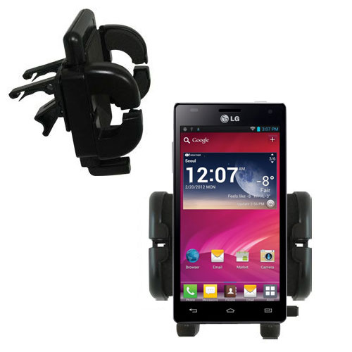 Vent Swivel Car Auto Holder Mount compatible with the LG P880