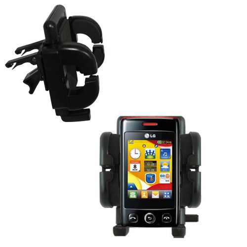 Vent Swivel Car Auto Holder Mount compatible with the LG Papaya
