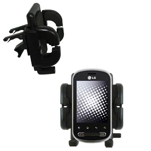 Vent Swivel Car Auto Holder Mount compatible with the LG Pecan
