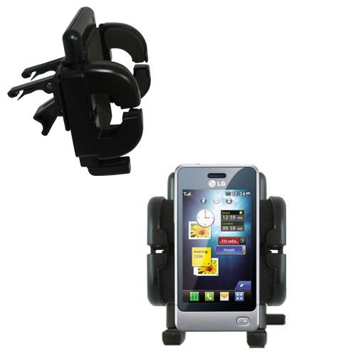 Vent Swivel Car Auto Holder Mount compatible with the LG Pop GD510