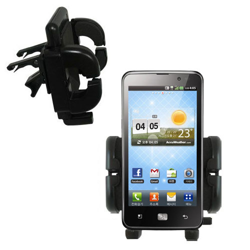Vent Swivel Car Auto Holder Mount compatible with the LG Revolution 2