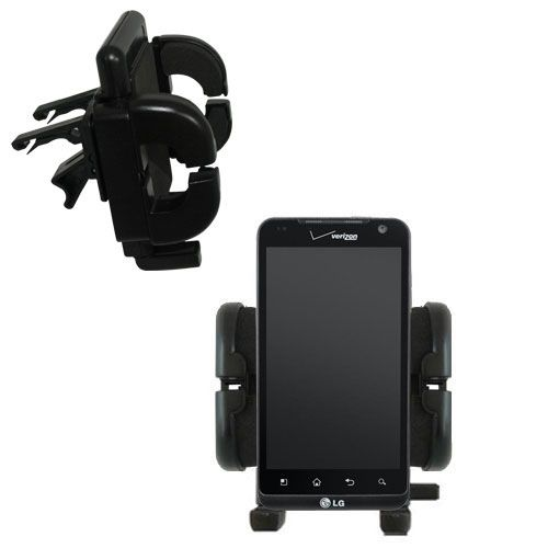Vent Swivel Car Auto Holder Mount compatible with the LG Revolution