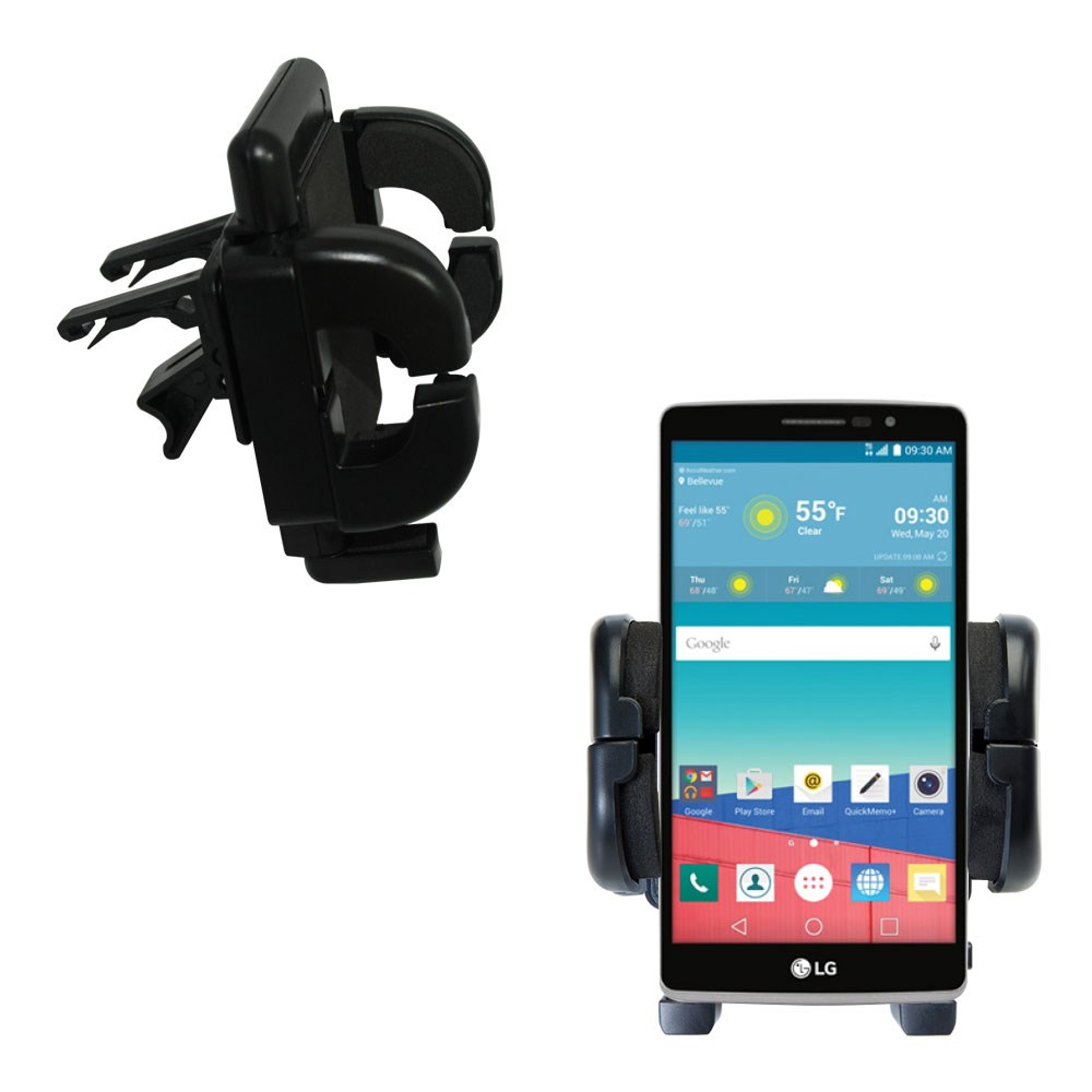 Vent Swivel Car Auto Holder Mount compatible with the LG Stylo 3