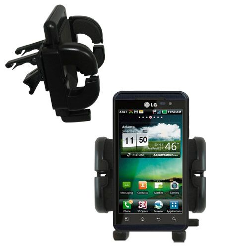 Vent Swivel Car Auto Holder Mount compatible with the LG Thrill 4G