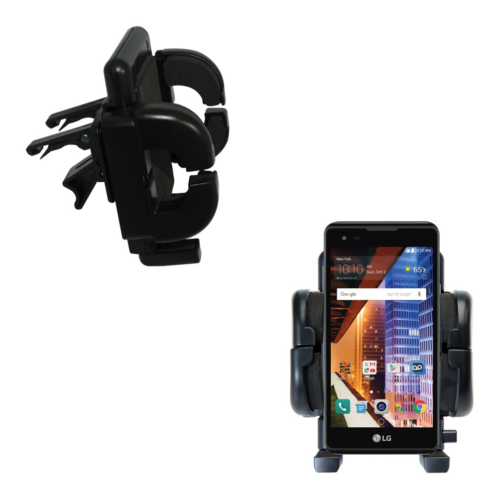 Vent Swivel Car Auto Holder Mount compatible with the LG Tribute HD
