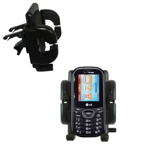 Vent Swivel Car Auto Holder Mount compatible with the LG UN251