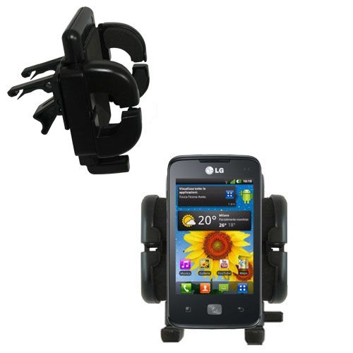 Vent Swivel Car Auto Holder Mount compatible with the LG Univa