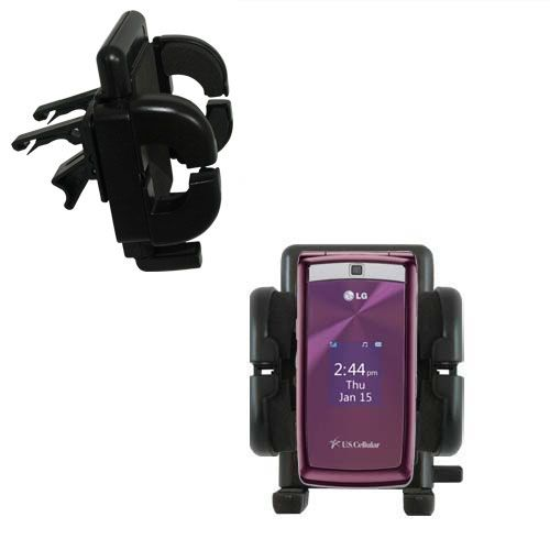 Vent Swivel Car Auto Holder Mount compatible with the LG UX280