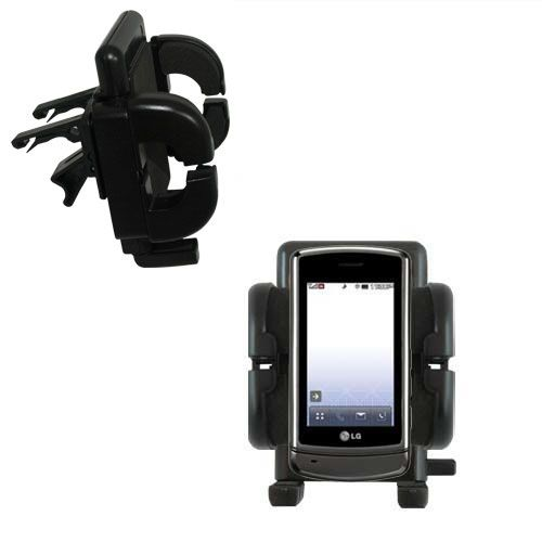 Vent Swivel Car Auto Holder Mount compatible with the LG UX830 UX840