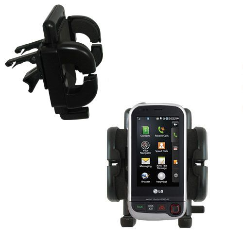 Vent Swivel Car Auto Holder Mount compatible with the LG UX840