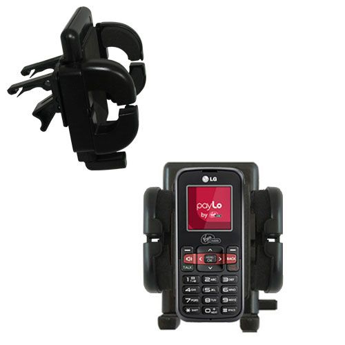 Vent Swivel Car Auto Holder Mount compatible with the LG VM101