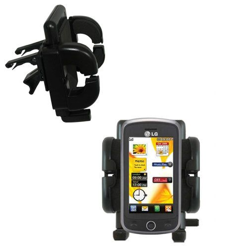 Vent Swivel Car Auto Holder Mount compatible with the LG VN530