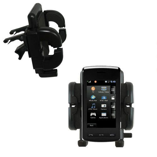 Vent Swivel Car Auto Holder Mount compatible with the LG Vu