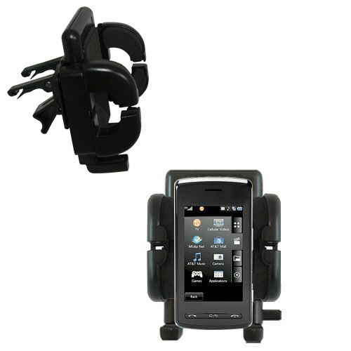 Vent Swivel Car Auto Holder Mount compatible with the LG Vu Plus