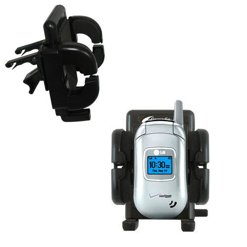 Vent Swivel Car Auto Holder Mount compatible with the LG VX3450
