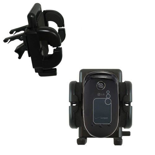 Vent Swivel Car Auto Holder Mount compatible with the LG VX5400