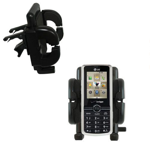 Vent Swivel Car Auto Holder Mount compatible with the LG VX7100
