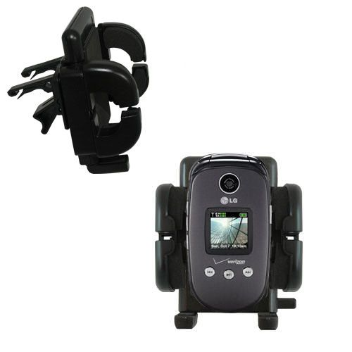 Vent Swivel Car Auto Holder Mount compatible with the LG VX8350
