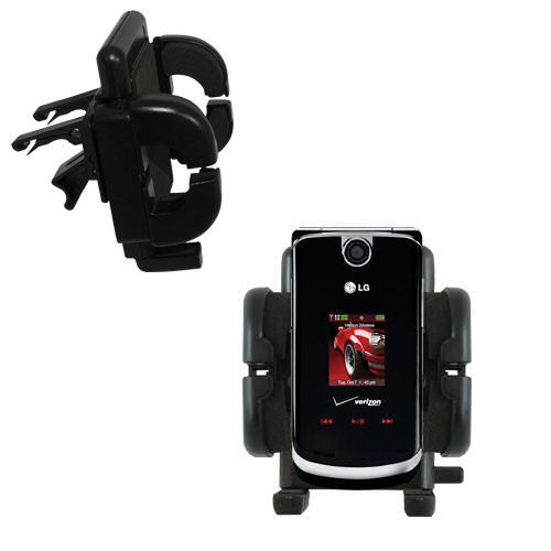 Vent Swivel Car Auto Holder Mount compatible with the LG VX8600