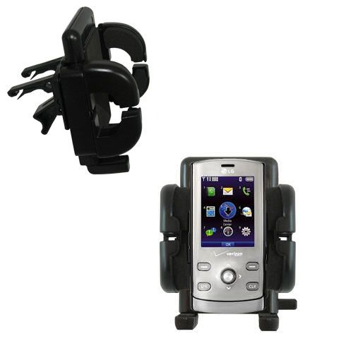 Vent Swivel Car Auto Holder Mount compatible with the LG VX8610