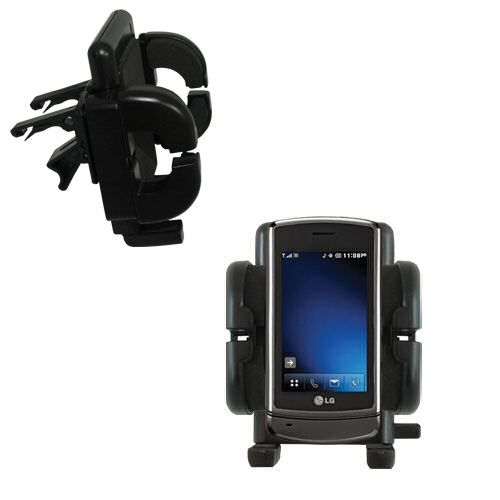 Vent Swivel Car Auto Holder Mount compatible with the LG VX9700