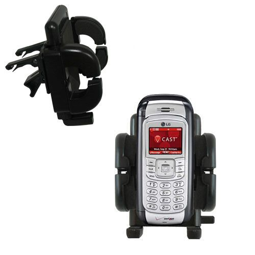 Vent Swivel Car Auto Holder Mount compatible with the LG VX9900