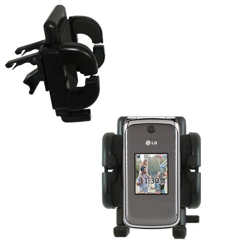 Vent Swivel Car Auto Holder Mount compatible with the LG Wine II