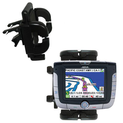 Vent Swivel Car Auto Holder Mount compatible with the Magellan Roadmate 3000T