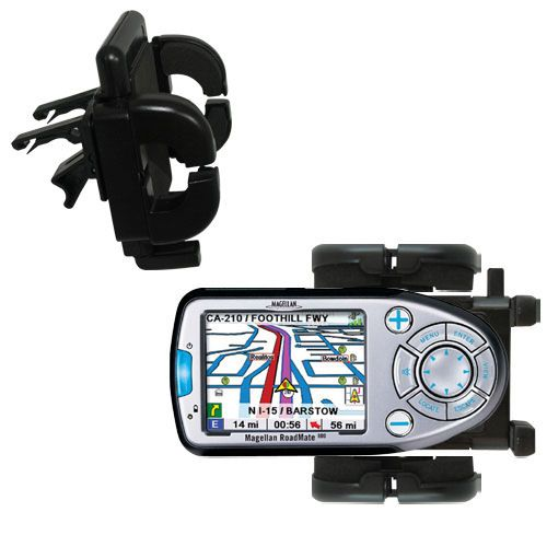 Vent Swivel Car Auto Holder Mount compatible with the Magellan Roadmate 800